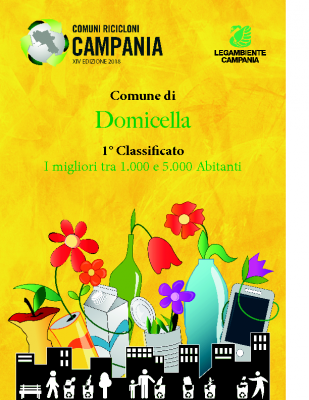 Domicella (AV)1° Classificato RD 95,10%Abitanti 1.873