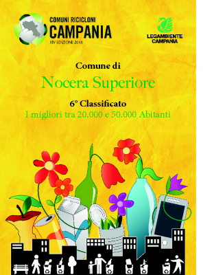 Nocera Superiore (SA)6° Classificato RD 74,78%Abitanti 24.151