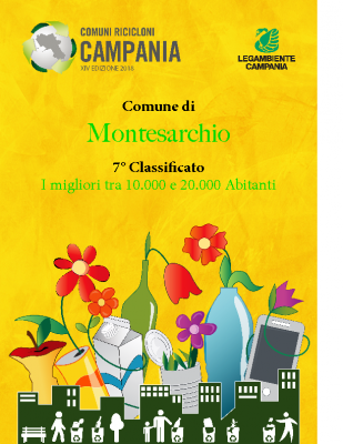 Montesarchio (BN)7° Classificato RD 76,87%Abitanti 13.198