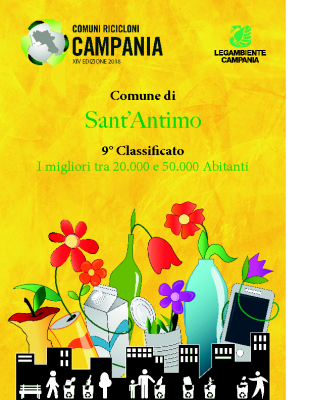 Sant'Antimo (NA)9° Classificato RD 67,36%Abitanti 34.107