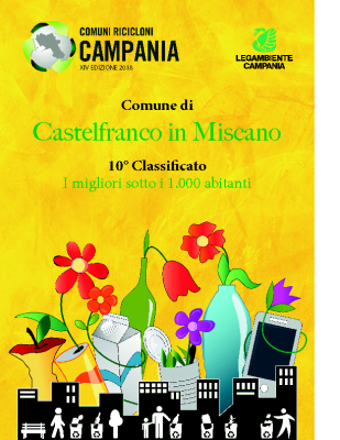 Castelfranco in Miscano (BN)10° Classificato RD 78,29%Abitanti 935